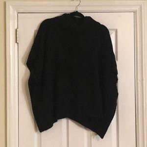 Oversized Short Sleeved Turtleneck Sweater Size 3X